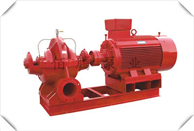 XBD-SH卧式多级消防双吸泵-北京威乐消防泵